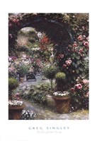 The Town Garden Nursery Fine-Art Print