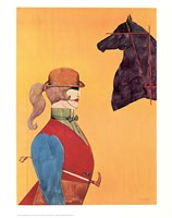 Girl in Riding Habit Fine-Art Print