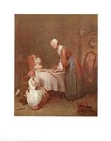 Grace Before Meal Fine-Art Print