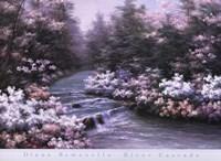 River Cascade Fine-Art Print