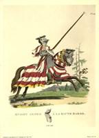 1512-Knight Armed a La Haute Barde Fine-Art Print