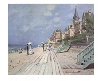 Beach At Trouville Fine-Art Print