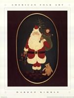 Santa with Toys Fine-Art Print
