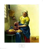 The Milkmaid Fine-Art Print