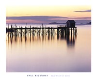 Old Wharf at Dawn Fine-Art Print