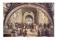 The School of Athens, c.1511 Fine-Art Print