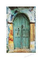 Arched Doorway [black border] (13-3/4 x 19-1/2) Fine-Art Print