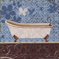 Eco Motif Bath I Fine-Art Print