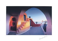 Sunlit Steps (27-1/2 x 19-1/2) Fine-Art Print