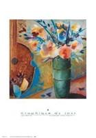 Flowers and Fruits II Fine-Art Print