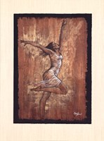Dance of Joy I Framed Print