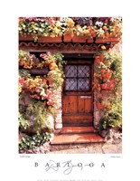 Flower Cottage Fine-Art Print