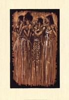 Sisters in Spirit (24 x 34) Framed Print