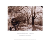 Hampstead Ponds, London Fine-Art Print