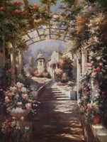 Romantic Pathway I Fine-Art Print
