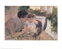 Susan Comforting the Baby Fine-Art Print