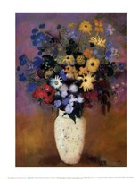 Vase of Flowers, 1914 Fine-Art Print