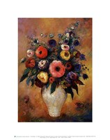 Vase of Flowers, 1912 Fine-Art Print
