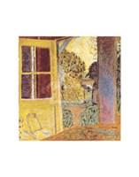 Door Open onto the Garden Fine-Art Print
