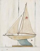 Pond Yacht II Fine-Art Print