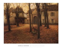 Le Village en Automne Fine-Art Print