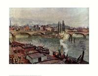 Stone Bridge, Rouen Fine-Art Print