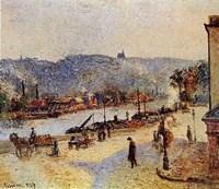 Quays At Rouen Fine-Art Print