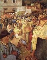 Village Market Fine-Art Print