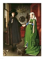 The Portrait of Giovanni Arnolfini and his Wife Giovanna Cenami Fine-Art Print