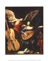St. Cecilia and the Angel Fine-Art Print