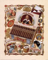 Jose Pinero Cigars Fine-Art Print