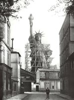 Statue of Liberty in Paris, 1886 Fine-Art Print