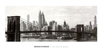 Brooklyn Bridge - panorama Fine-Art Print