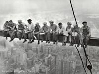 Lunchtime Atop a Skyscraper, c.1932 Fine-Art Print