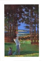 Golfer Fine-Art Print