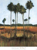 Tall Palms II Fine-Art Print