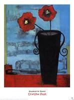 Crimson Duet Fine-Art Print