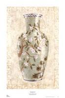 Ming Blossoms I Fine-Art Print