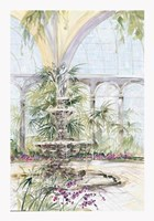 Crystal Pavilion I Fine-Art Print