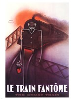 Le Train Fantome Fine-Art Print