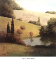 Inspired Hillsides I Fine-Art Print