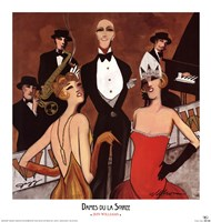 Dames du la Soiree Fine-Art Print