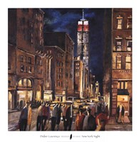 New York Night Fine-Art Print