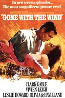 Gone with the Wind - Orange Fine-Art Print
