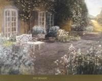 Garden Terrace Fine-Art Print