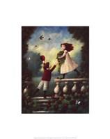 Children Playing: Garland Fine-Art Print