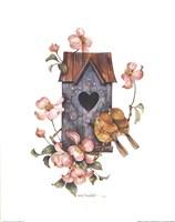 Birdhouse with Yellow Throats Fine-Art Print