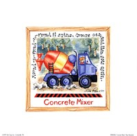 Concrete Mixer Fine-Art Print
