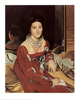 Madame De Sennones Fine-Art Print