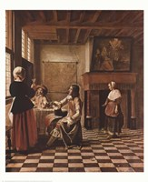 Interior of a Dutch house Fine-Art Print